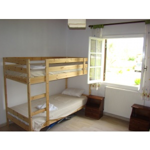 7. Second bedroom has 3 sleep places